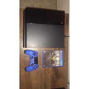 Playstation 4 Ps4 500 Gb 1 Controle + 1 Jogo