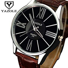 226cd83b344 Yazole 315 Masculino Curren - Relógios De Pulso no Mercado Livre Brasil