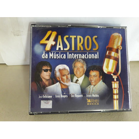 Cd 4 Astros Da Música Internacional 4 Cd