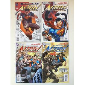 40 Comics Lote Dc Superman Action Comics New 52 Barbada