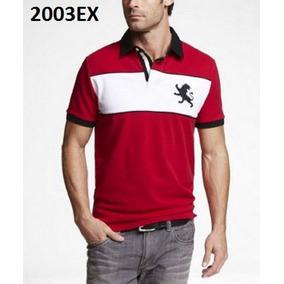 M - Playera Polo Express Roja P2003ex Ropa Hombre Original