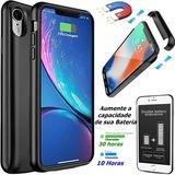Capa Case Carregador Bateria Externa Iphone Xs 5000 Mah