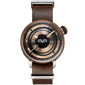 Bomberg Bb-01 Brown & Black 43mm Ct4304.1 Diego Vez