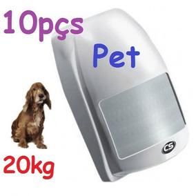 Sensor Infravermelho Ultra Pet 20kg Ivp Cs Ecp Jfl Intelbras