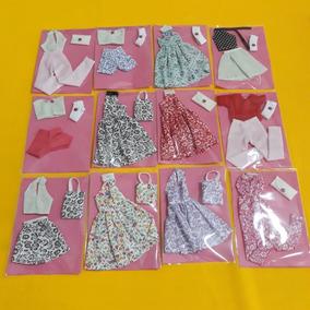 Kit C/ 30 Roupinhas Roupas Para Boneca Barbie Frozen Preço