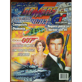 Gamers Book Número 2 - Goldeneye 007 / Gran Turismo / Magic