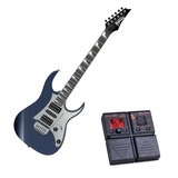 Guitarra Ibanez Navy Grg 150dx Nm + Pedaleira Zoom G1on-ak
