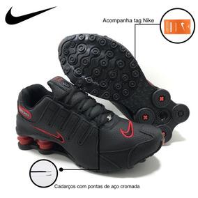 Kit 2 Pares Masculino Tênis Nike Shox Nz 4 Mola Original