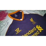 Camisa Do Liverpool Da Inglaterra 2012/13 Third!!!56x74cm