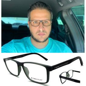 839fcfe3651bd Armação Oculos De Grau Masculino Tag6012 Original Premium. R  120