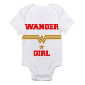 Pañalero Wonder Girl Dc Comics Bebés Envío Gratis