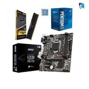 Kit Intel Pentium G5400 Mb Msi H310m Vdh 4gb Lpx Ddr4 I