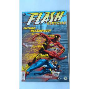 Raríssimo Flash Futuro Relâmpago Dc Gibi Hq Quadrinhos