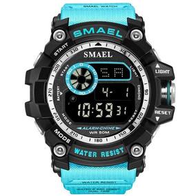 Reloj Smael Shock Rango Militar Táctico Sumergibl 5atm 8010