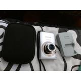 Camara Digital Canon 12 Mpx Con Cargador Bateria Y Estuche