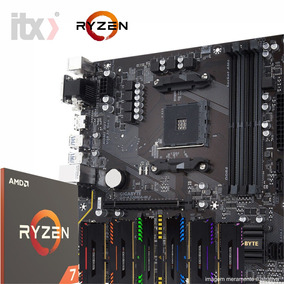 Kit Amd Ryzen 7 1700x + Gigabyte Ga-a320ma-m.2 + 16gb Rgb