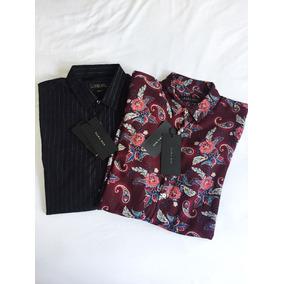 Camisa Manga Larga Zara 2x499