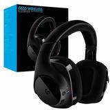 Logitech G533 Auriculares Gaming (sonido En 7.1 Inalambrico)