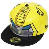 Boné New Era Aba Reta Fechado Transformers Bumblebee Amarelo 272253be207