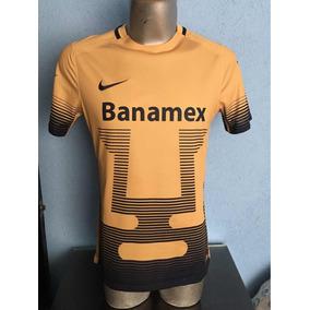 1a5e1c140dd62 Camiseta Pumas Dorado Unam en Mercado Libre México