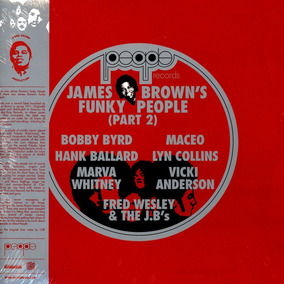 James Brown Lp Duplo 180g Funky People Part .2 Lacrado