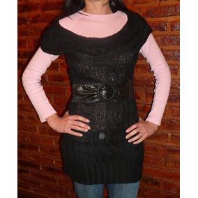 Sweaters Mujer Largos Nuevos - Ropa y Accesorios Negro en Mercado ... e589673a943a