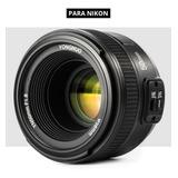 Lente Yongnuo Ef 50mm F/1.8 Af Para Nikon