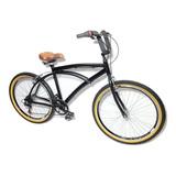 Bicicleta Beach Caiçara Praiana Estilo Retrô De Alumínio ***