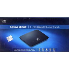 Cisco Switch Ethernet Gigabit, 5 Puertos Linksys Se2500