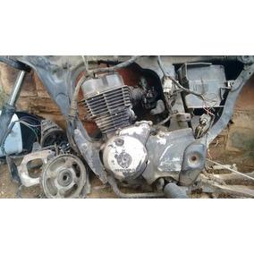 Motor Cg 150 Para Peças Com Nota