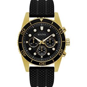 63a6d67fbb1 Relogio Bulova Chronograph Original Ouro - Relógios De Pulso no ...