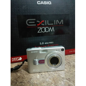 Cámara Fotográfica Exilim Zoom