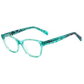 9a0f34e8a025d Oculos Atitude At4033 T01 Verde De Grau - Óculos no Mercado Livre Brasil