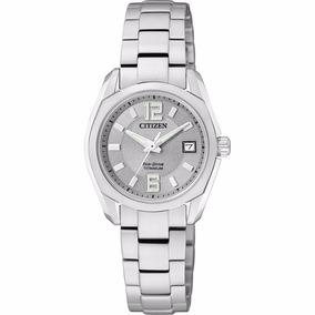Reloj Citizen Eco-drive Original Para Dama Ew2101-59a