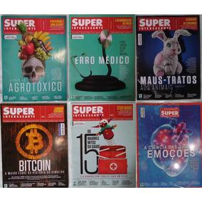 Revista Super Interessante - Kit Com 6 Revistas