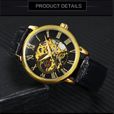 311f506e1c3 Relógio De Corda Masculino Forsining - Modelo Gmt838