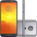 Celular Motorola Moto E5 Tela 5.7 16gb 4gb +película