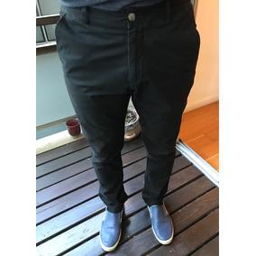 Negro Hombre Zara En Pantalones De Gabardina Pantalon 74qx10FwX