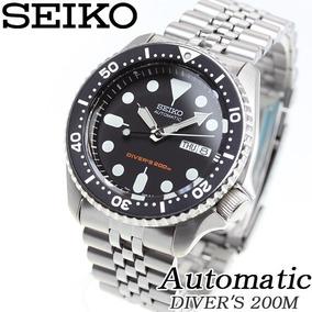 Seiko Automático Scuba Diver 200m Skx007k2- 12x Sem Juros