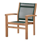Muebles Teka De Indonesia: Marley Stacking Arm Chair Teak &