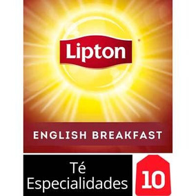 Té English Breakfast Lipton 10 Saquitos