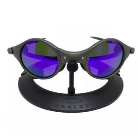 800359c3ce Oculos Oakley Mars Medusa Roxa Metal Polarizado Promoção 12x