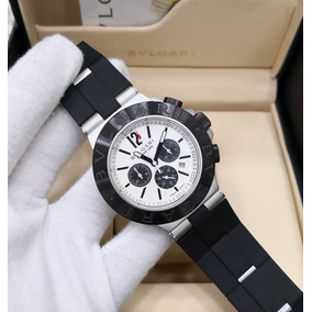 cc25e961e4f Relógio Bvlgari Titanium White black  handswatchs