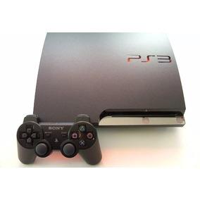 Playstation 3 Slim Ps3 + Controle Original+ Vários Jogos