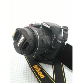 Maq. Fotográfica Nikon D5300 Completa Com 40 Horas De Uso