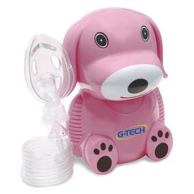 Inalador E Nebulizador - Nebdog - Rosa - G-tech