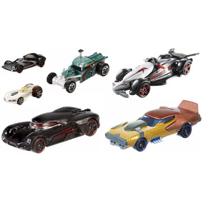 Kit 6 Carrinhos Star Wars Hot Wheels