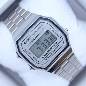 a7b09d8fdaa4 Reloj Casio Futurista A220w Silver Hombre - Reloj de Pulsera en ...