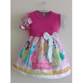 Roupa Infantil Menina Vestido Fantasia Tema Aniversário.