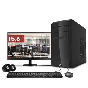Computador Corpc Intel Core I3 4gb Ddr3 500gb E Led 15.6